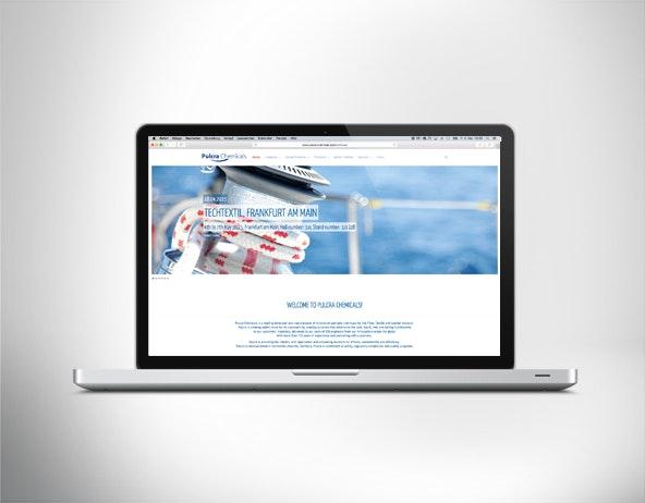 Relaunch der Website für Pulcra Chemicals GmbH