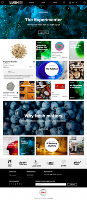 Lush Brings Its Stories to Life Online, Integrating Content and Commerce