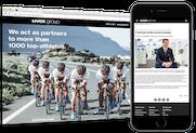 uvex group: Website für das deutsche Familienunternehmen