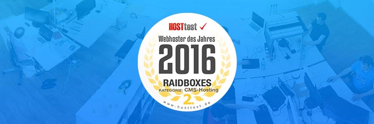 RAIDBOXES - High-Performance WordPress-Hosting & Management