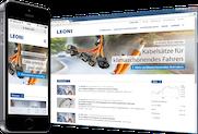 LEONI AG: Globale Website für MDAX-Konzern