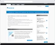 Unternehmensweites Intranet für DAIKIN Airconditioning Germany