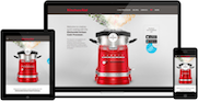 Bauknecht, KitchenAid und Whirlpool Websites