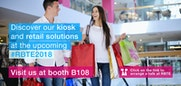 Visit us at the RBTE 2018 in London