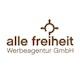 alle freiheit Werbeagentur GmbH