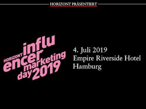 Horizont Influencer Marketing Day 2019
