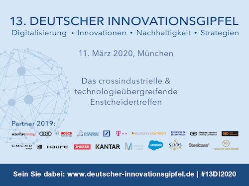 13. Deutscher Innovationsgipfel