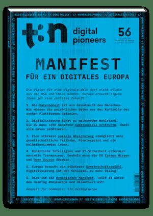 t3n Ausgabe Nr. 56 - t3n 56 | Hey Europa!
