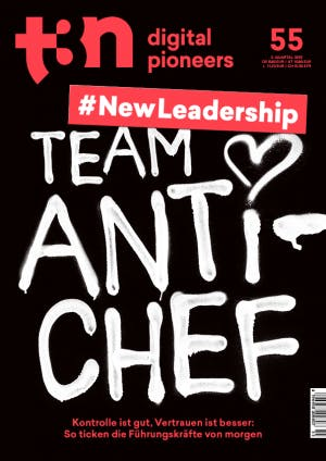 t3n Ausgabe Nr. 55 - t3n 55 | New Leadership: Team Anti-Chef