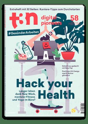t3n Ausgabe Nr. 58 - t3n 58 | Hack your Health