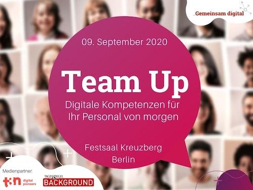 Team Up - Digitale Kompetenzen für Ihr Personal von morgen
