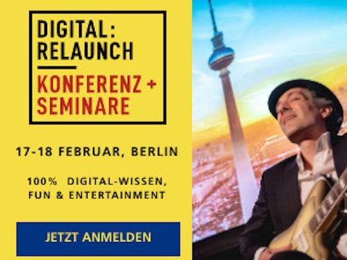 Digital:Relaunch Konferenz und Seminare