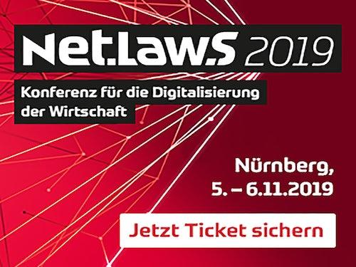 Net.Law.S – Konferenz für die Digitalisierung der Wirtschaft