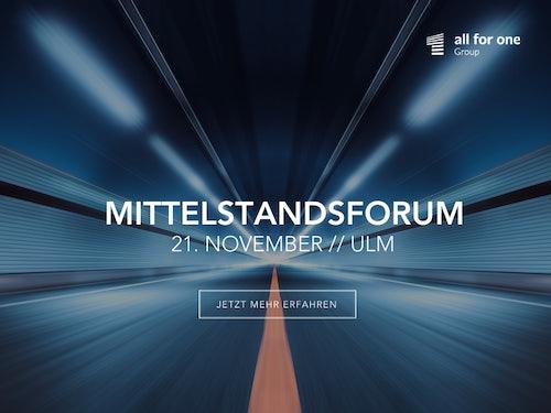 Mittelstandsforum 2019