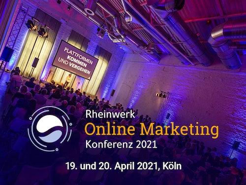 Rheinwerk Online Marketing Konferenz