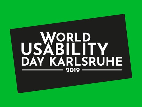 World Usability Day Karlsruhe 2019