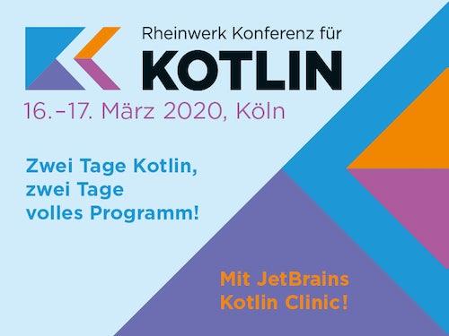Rheinwerk Konferenz für Kotlin (KKON)