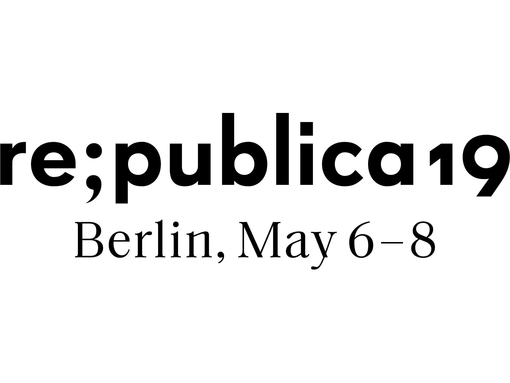 re:publica 19